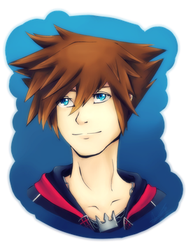 Sora Speedpaint by AzuraJae