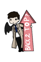 Back to top :Cas: by blancci