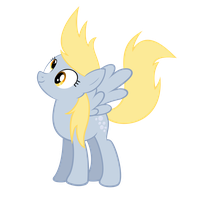Windy Derpy Hooves by OTfor2