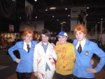 Nick, Ellis, and...The Hitachiins? by TenderLovingCosplay