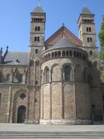 St Servaas church in roman style by marob0501