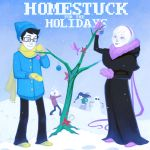Homestuck for the Holidays by lexxercise