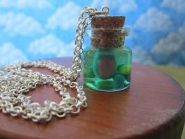 Bottled Hamidon Necklace by Rei2jewels