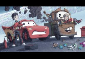 Cars Kids by OtisFrampton