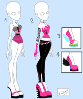 Monster High clothes for sale by rini12