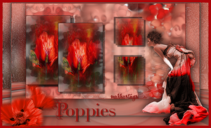 Poppies by Makkastags