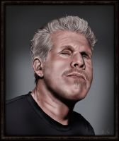 Ron Fucking Perlman by Munchflower
