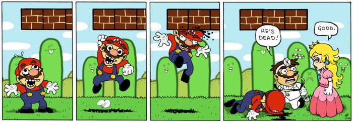 Mario Hilarity by zpxlng
