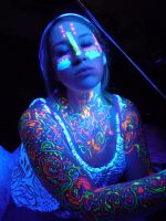 Blacklight Graffiti Stock XII by Melyssah6-Stock