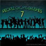 HQ people/crowd brushes by M10tje