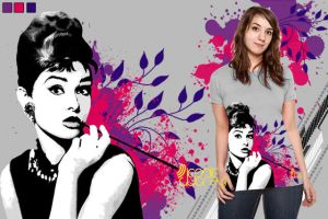 Iconic Audrey by JRxDesigns