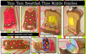 Yum Yum Breakfast Pouches by tedsie