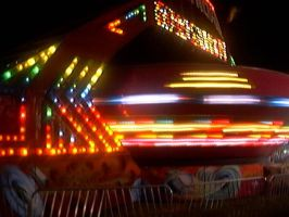 Carnival ride at night photo I took by mcsoftware