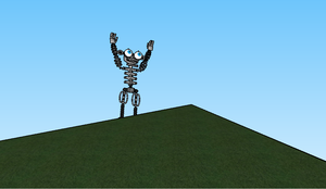 Endoskeleton on top of the World by HTFBlueFan2012
