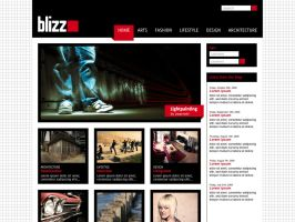 webdesign blizz by quasiohnemodo