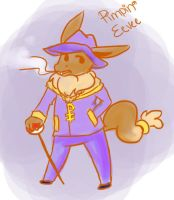 Pimpin' Eevee by Millenium-Lint