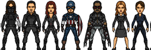 Captain America: The Winter Soldier by BAILEY2088
