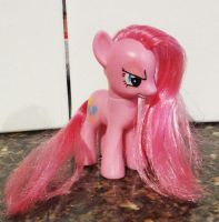 Custom 'Pinkamina' figure by stripeybelly