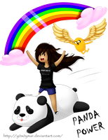 Panda power!! by Pandi-Mar