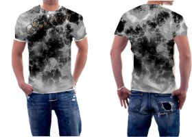 Abstract Design 3 Front And Back Male Comp by Soulkreed