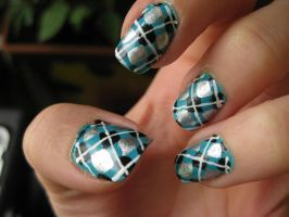 nailart - scottish by JoshuaLove