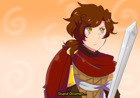 APH:Byzantine Empire: Stupid Ottoman... by SPINNY-chair-HERO