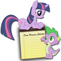 Twilight and Spike Notes by DrZurnPhD