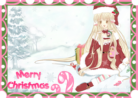 -: Merry Christmas: Chii and Sumomo :- by Cherry-Fizzle