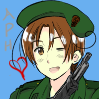 Tablet Testing: Carabinieri!Italy (Himaruya) by Pianodream