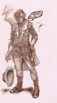 Cowboy Sam by Pandemoniumswings