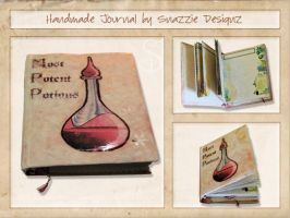 Essential Oils Journal by snazzie-designz