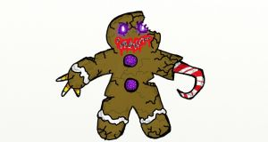 Gingerbread Monster by corex13