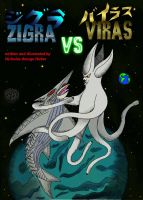 Zigra vs Viras Comic Cover by SaintNick14