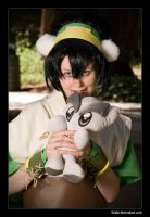 Toph with Fella 2 by faidoi