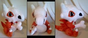 Cubone plush 2 by LRK-Creations