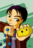 ALEXX. with his dices by kendrawer