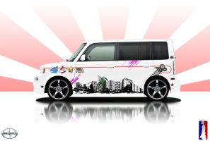 scion xB... the urban way by djurban01