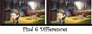Find 6 Differences (2) by RaikanEarthDragon