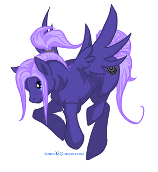 Future Trunks Pony by Sanoo32