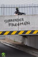 SURRENDER FREEMEN by Leadmill
