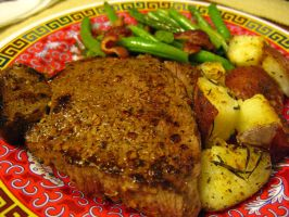 Steak and Taters by SpasiantasticalMan