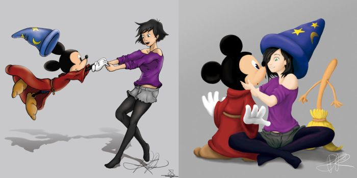 Comparativa Aly Mickey by Oxido-538