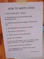 How to Write Good by Feanor-the-Dragon