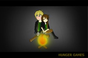The Hunger Games:KatnissxPeeta by Aisquia