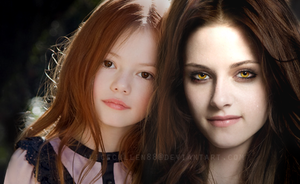 Bella and Renesmee Cullen by AliceCullen88