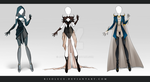 (CLOSED) Adoptable Outfit Auction 80-82 by Risoluce