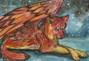 ACEO-Skyblaze by SunStateGalleries