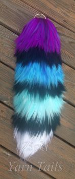 Colorful Coon Tail by serenitymoonwolf