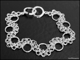 Chainmaille bracelet 1 by Gex78
