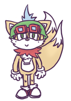 Tails with a teemo hat by prochyprochy